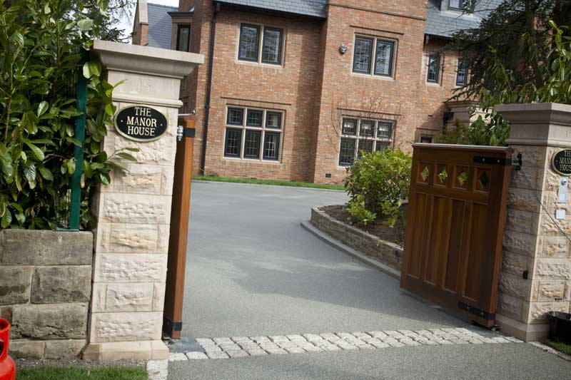 cheshire bound stone resin driveways
