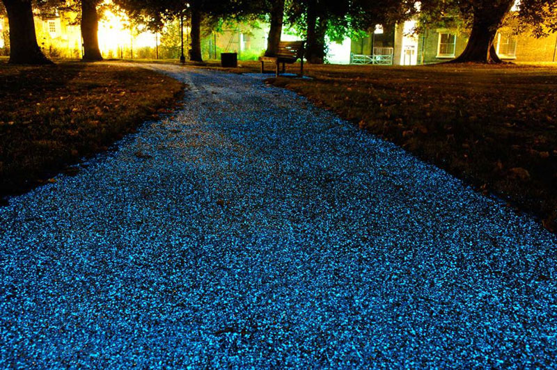 Image Result For Glow Stone Driveway