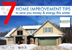 7 Winter Improvement Tips To Save You Money This Winter
