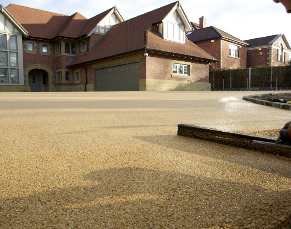 what is resin bound stone